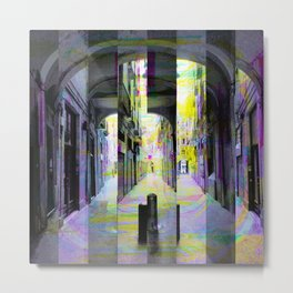 Tuesday 28 May 2013: After a runin regarding that public private limit. Metal Print