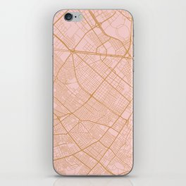 Bogota map iPhone Skin