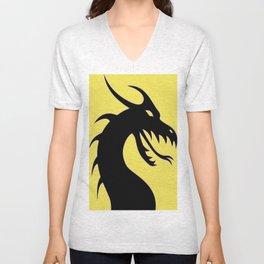 Dark Dragon Unisex V-Neck