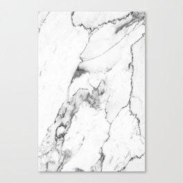 White Marble I Canvas Print