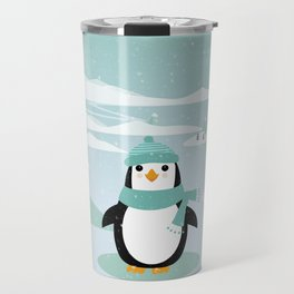 AFE Winter Penguin Travel Mug