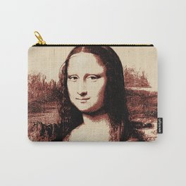 Mona Lisa Vintage Carry-All Pouch