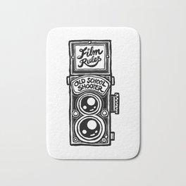 Analog Film Camera Medium Format Photography Shooter Bath Mat