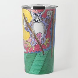 "James Joyce & The ""Hey Diddle Diddle"" Cow Travel Mug"