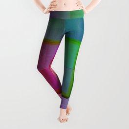 Aperture #1 Fractal Pleat Texture Colorful Design Leggings