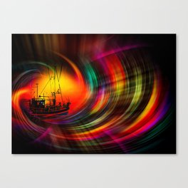 Time Tunnel 3 Canvas Print