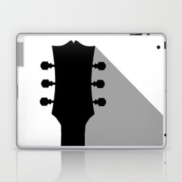 Guitar Headstock With Shadow Laptop & iPad Skin