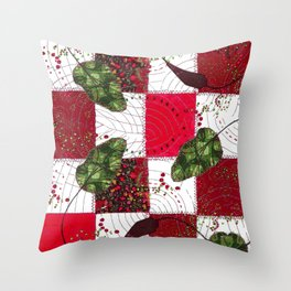 Young beetroots Throw Pillow