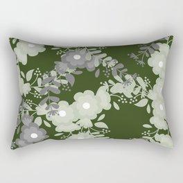 Victorian Flowers  Rectangular Pillow