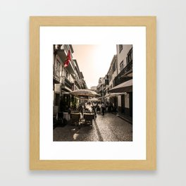 Madeira Street Framed Art Print