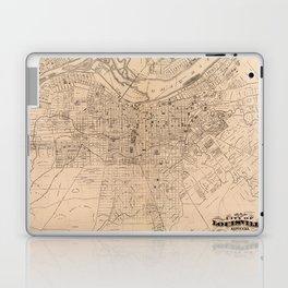 Map Of Louisville 1873 Laptop & iPad Skin