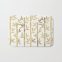 Bamboo Stems – Gold Palette Bath Mat
