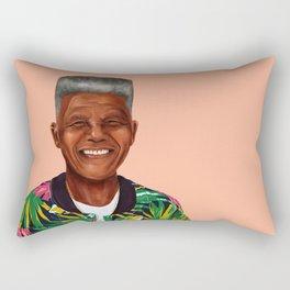 Hipstory - Nelson Mandela Rectangular Pillow