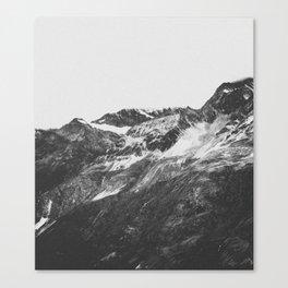THE MOUNTAINS XVI / Switzerland Canvas Print