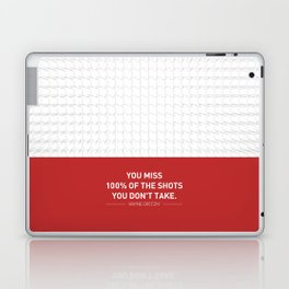 Lab No. 4 - Wayne Gretzky Hockey Player Quotes Poster Laptop & iPad Skin