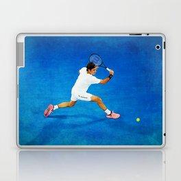 Roger Federer Sliced Backhand Laptop & iPad Skin