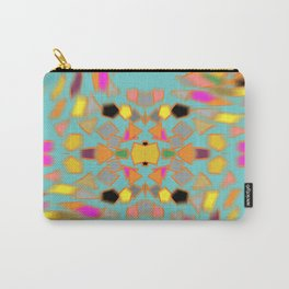Abstract 70's feel Carry-All Pouch