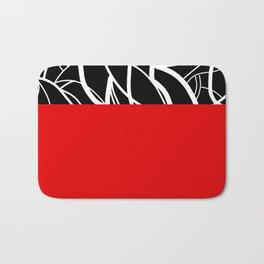 Red Zebra Bath Mat