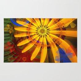 Sunflower joy Rug