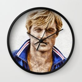 Robert Redford, Actor Wall Clock