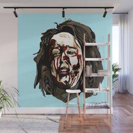 Bloody Annie Wilkes - Misery (Blue) Wall Mural