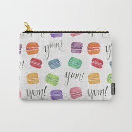 Yum! Macarons Carry-All Pouch