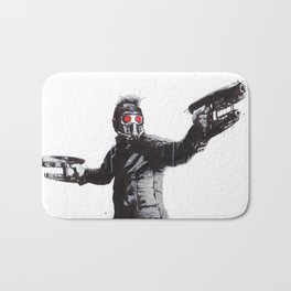 Star-Lord (Peter Quill) Guardians Graffiti Pop Urban Street Art Bath Mat