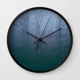 Dense Fog Wall Clock
