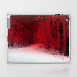 Red Forest Laptop & iPad Skin