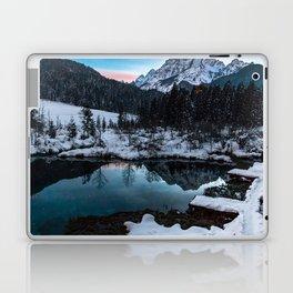 Zelenci springs at dusk Laptop & iPad Skin