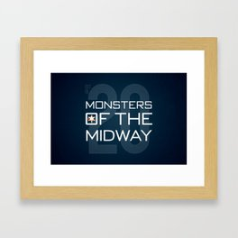 Monsters of the Midway Framed Art Print
