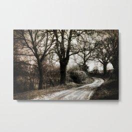 Village Road Metal Print