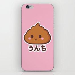 Happy poop iPhone Skin