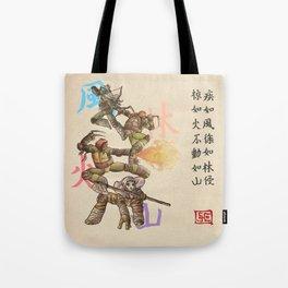 TMNT Furinkazan Tote Bag