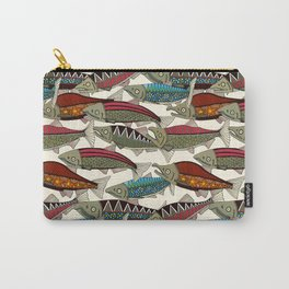 Alaskan salmon pearl Carry-All Pouch