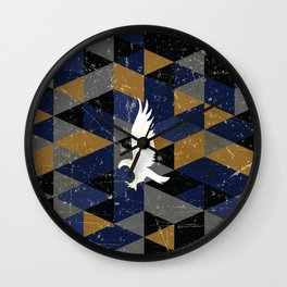 Ravenclaw House Pattern Wall Clock