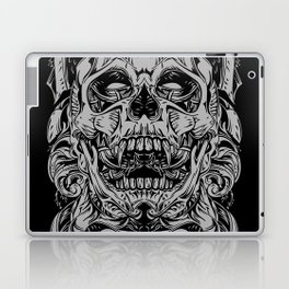 2 FACES SKULL Laptop & iPad Skin