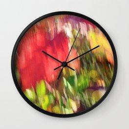 Lovely Fall Wall Clock