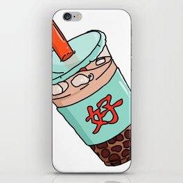 Good Boba iPhone Skin