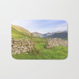 Ben Nevis Mountain Range Bath Mat