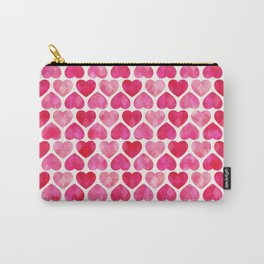 RUBY HEARTS Carry-All Pouch