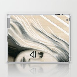 Beach Tribe Five - Gypsy Soul Searching Woman Laptop & iPad Skin