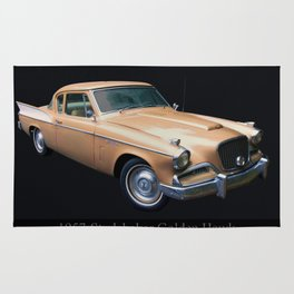 1957 Studebaker Golden Hawk Rug