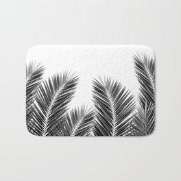 White Palm Skies Bath Mat