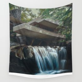 FallingWater Wall Tapestry