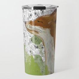 Sunning Fox Travel Mug