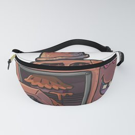 Robot pie thrower Fanny Pack