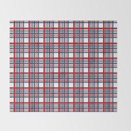 Plaid pattern Throw Blanket