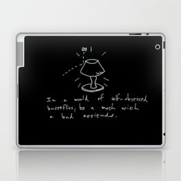 A Moth With A Bad Attitude Laptop & iPad Skin