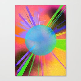 Color pop Canvas Print